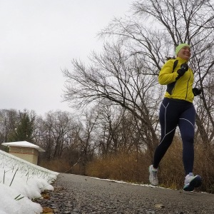 #runlove with the first snowfall of the season
